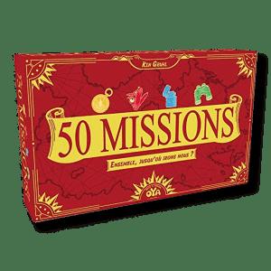 Location et livraison à domicile du jeu de société 50 Missions