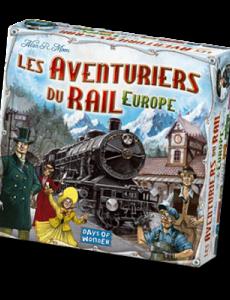 Location et livraison à domicile du jeu les aventuriers du rail : Europe