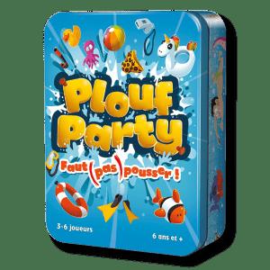 Location et livraison à domicile du jeu de société Plouf Party Suisse